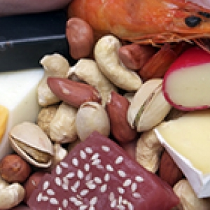 eggs, nuts, cheese, seafood 200 140