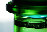 cider bottle green