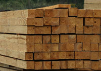 timber post stack